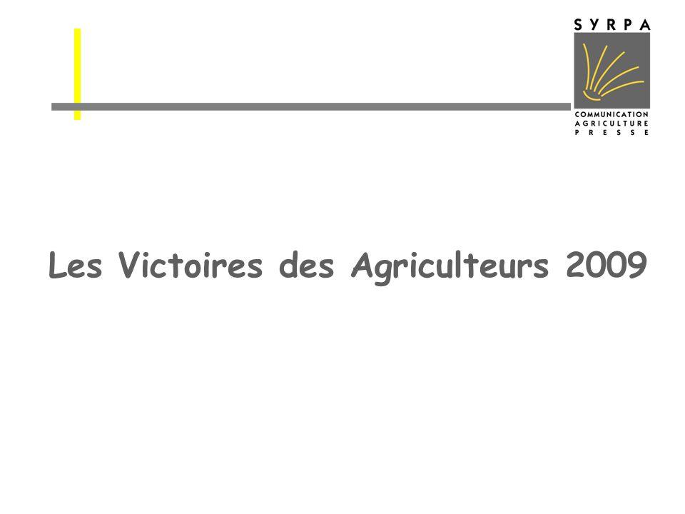 Les Victoires des Agriculteurs 2009
