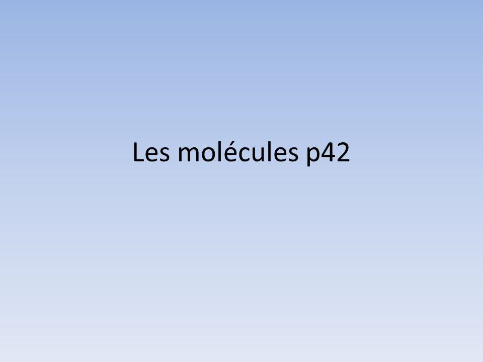 Les molécules p42