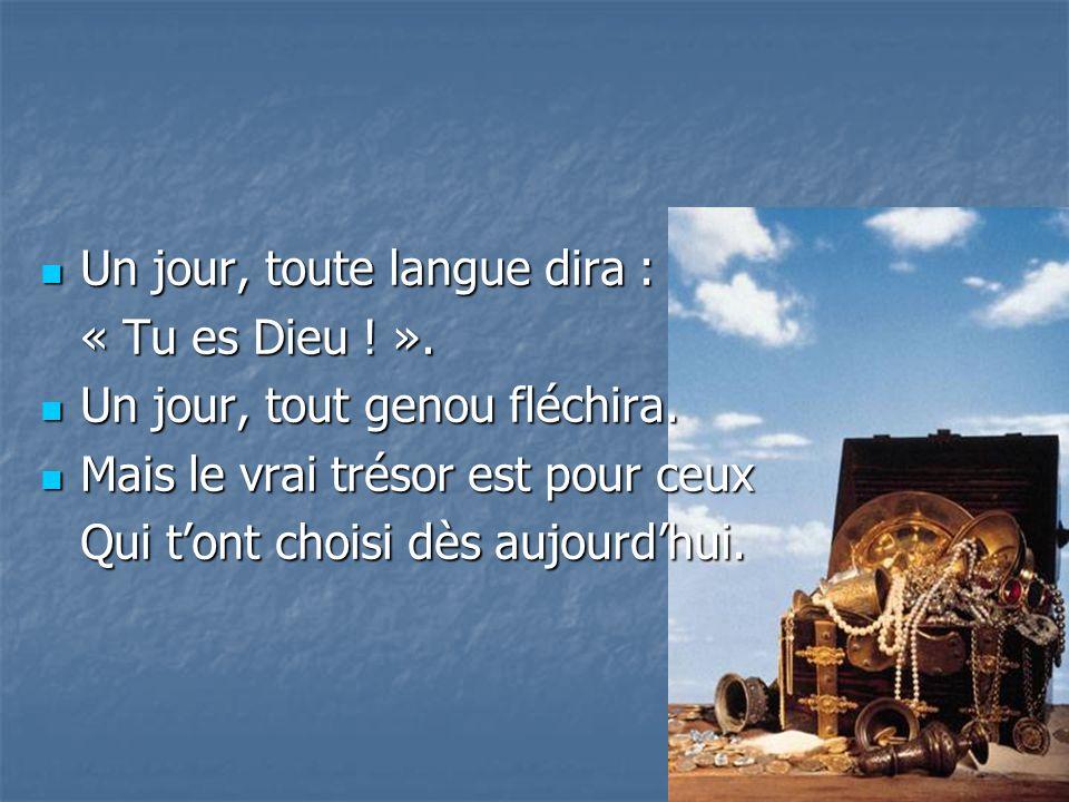 Un jour, toute langue dira :