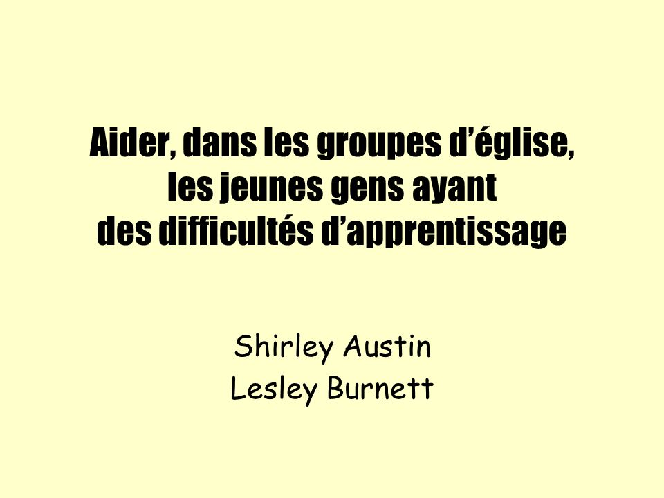 Shirley Austin Lesley Burnett