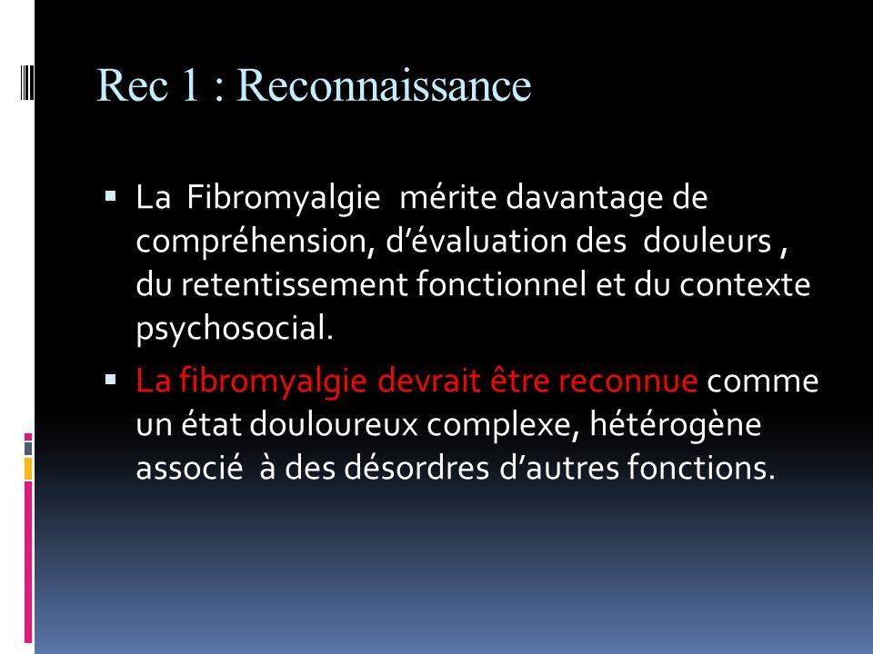 Rec 1 : Reconnaissance