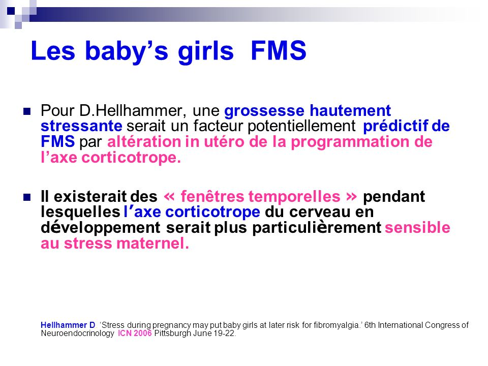 Les baby's girls FMS