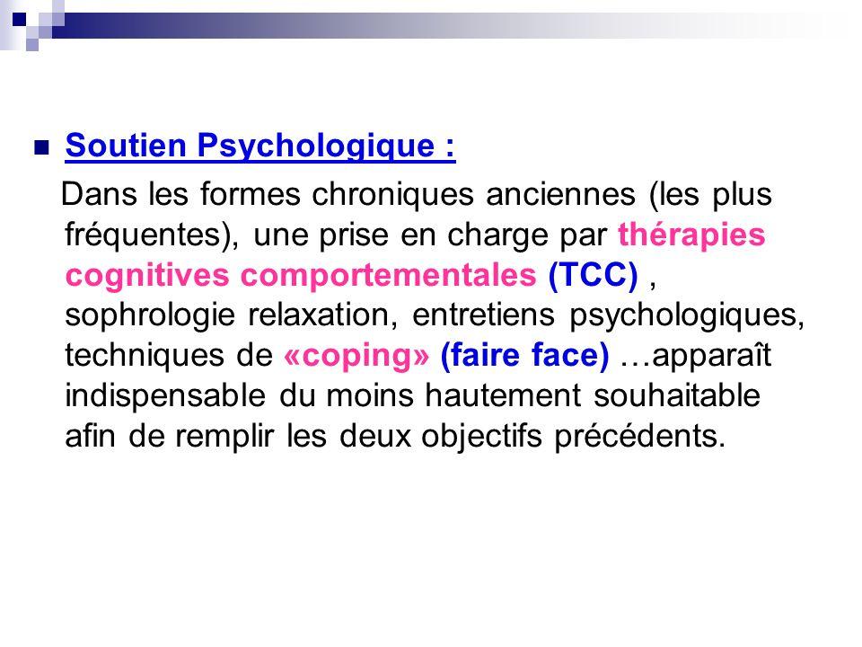 Soutien Psychologique :