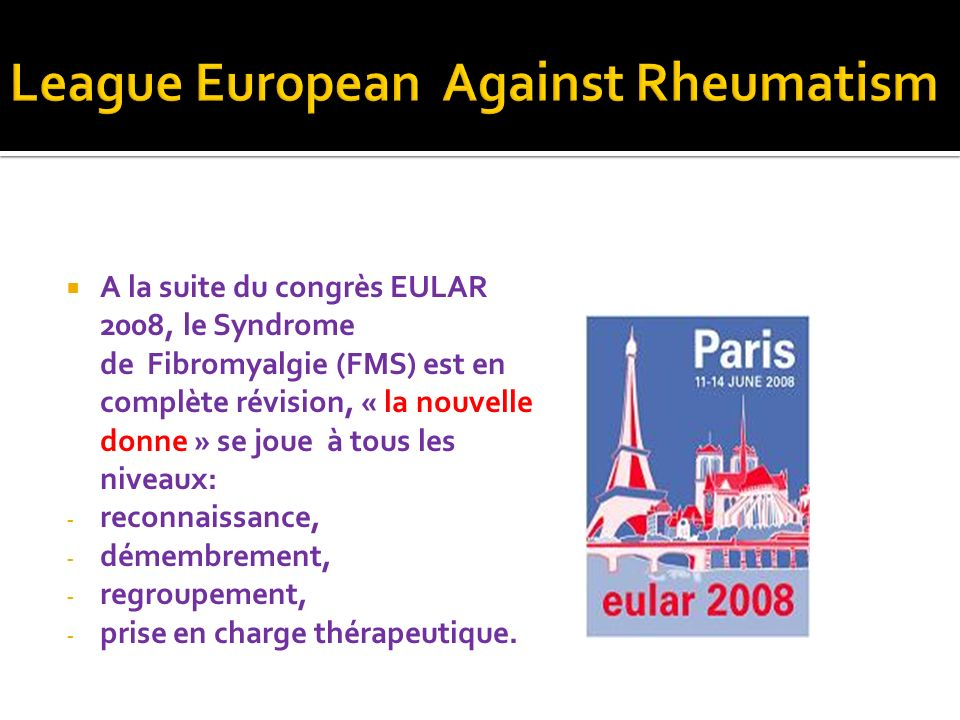 League European Against Rheumatism