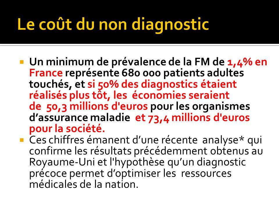 Le coût du non diagnostic
