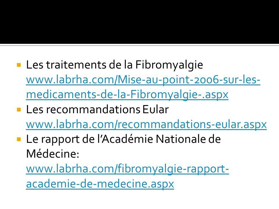 Les traitements de la Fibromyalgie www. labrha