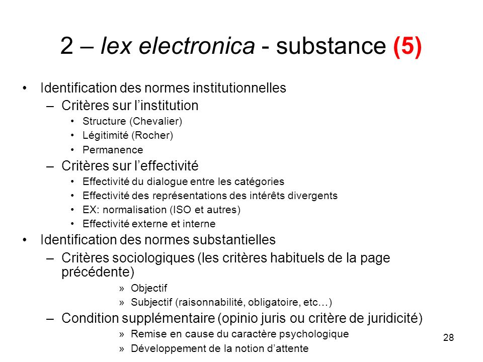 2 – lex electronica - substance (5)