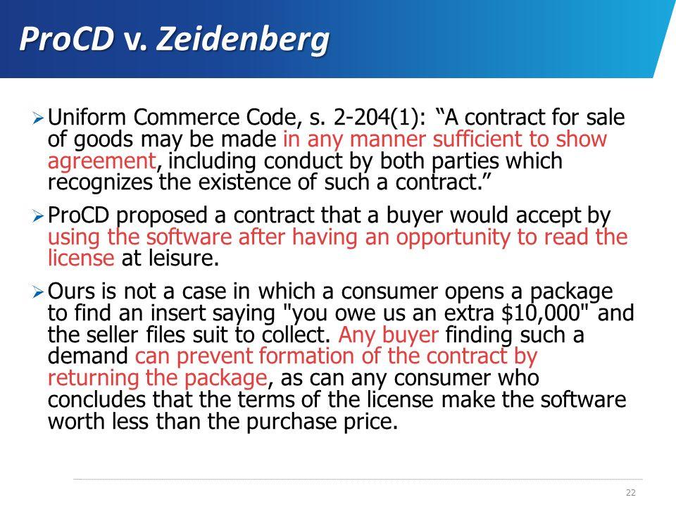ProCD v. Zeidenberg