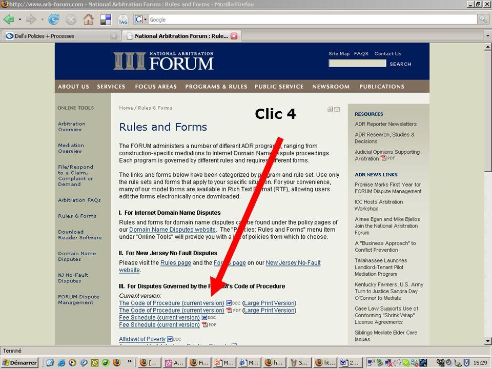 2. Click wrap Clic 4 20100908