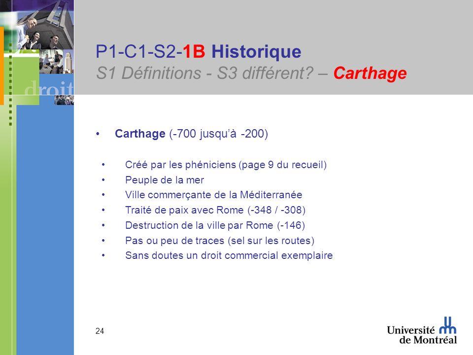 P1-C1-S2-1B Historique S1 Définitions - S3 différent – Carthage