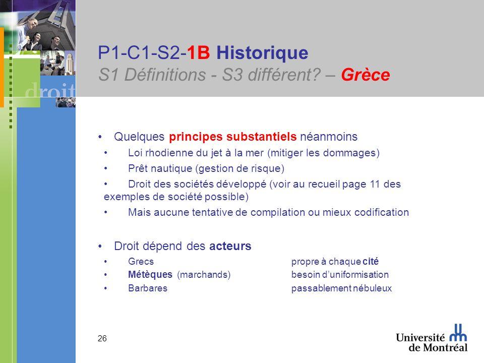 P1-C1-S2-1B Historique S1 Définitions - S3 différent – Grèce