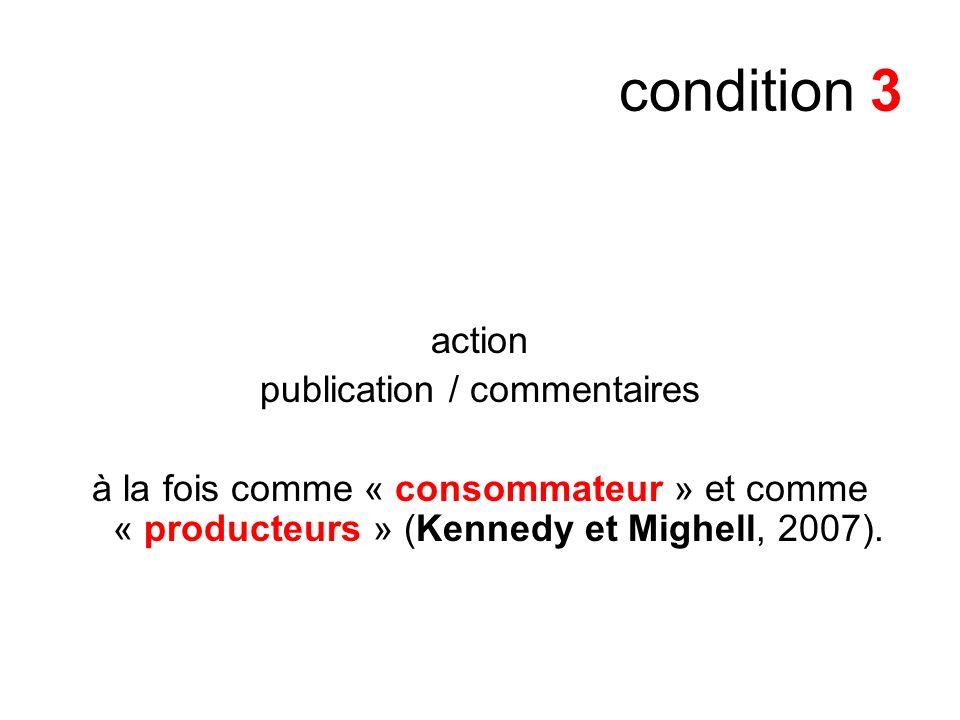 publication / commentaires