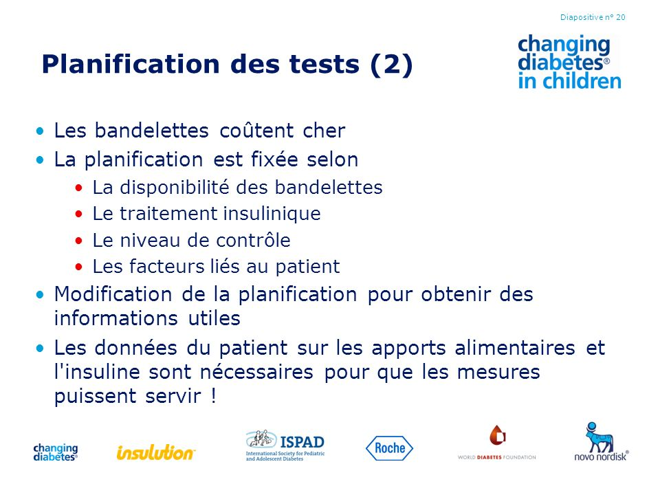 Planification des tests (2)