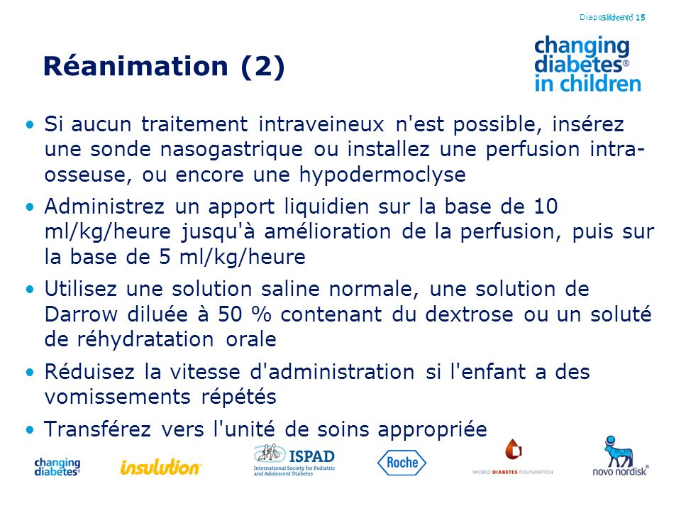 Diapositive n° 15 Réanimation (2)