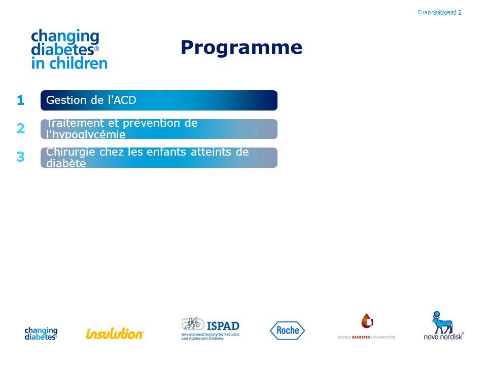 Programme 1 2 3 Gestion de l ACD
