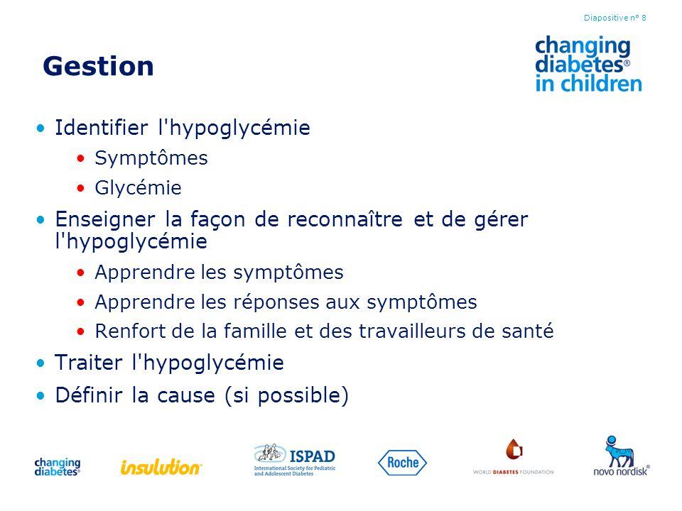 Gestion Identifier l hypoglycémie