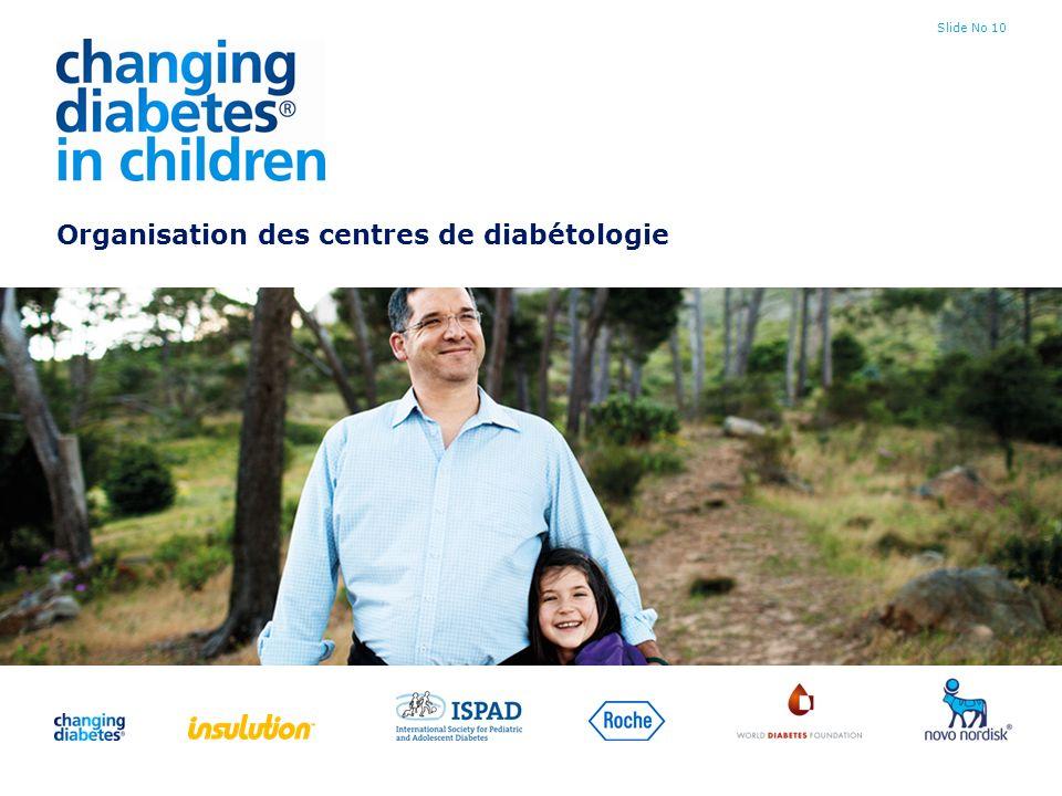 Organisation des centres de diabétologie