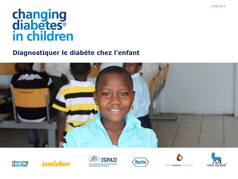 Diagnostiquer le diabète chez l'enfant