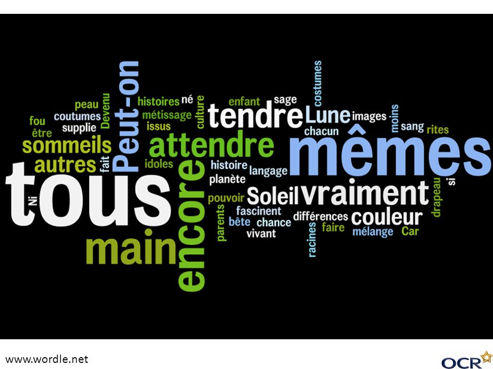 www.wordle.net Shorter version