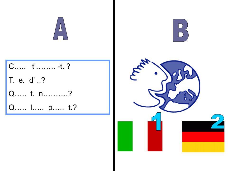 A B 1 2 C….. t'…….. -t. T. e. d' .. Q….. t. n……….