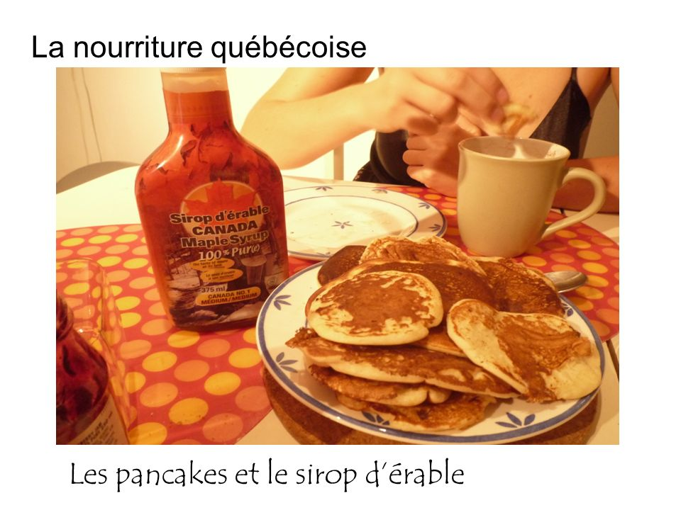 La nourriture québécoise