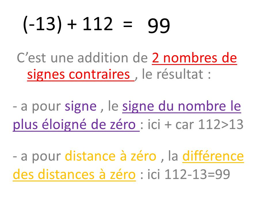 13 99 c est une addition de 2 nombres de signes for La peur du nombre 13