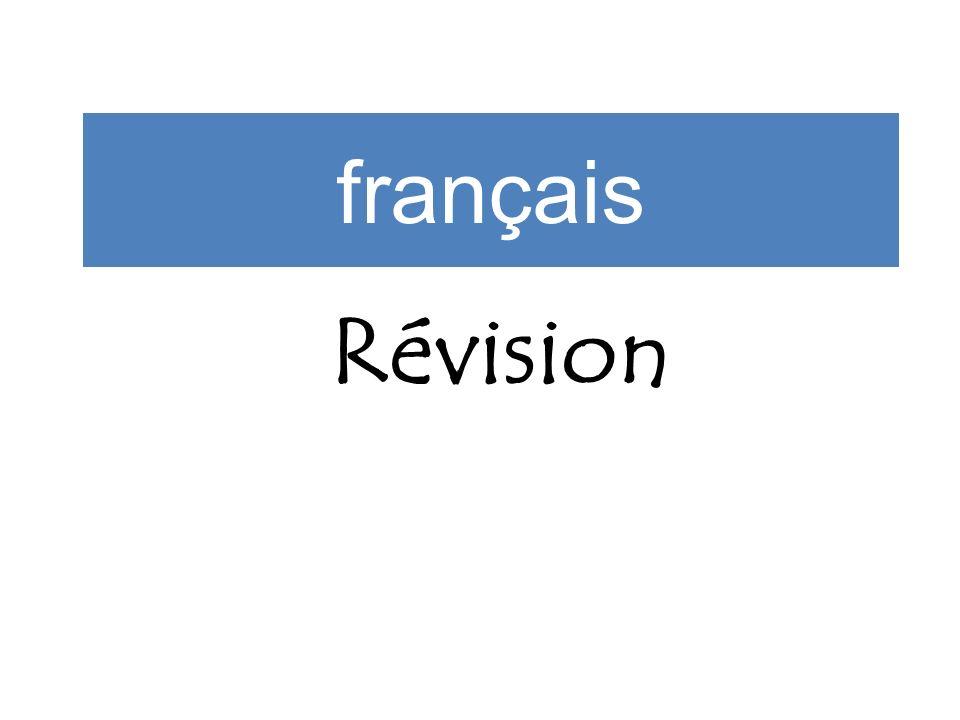 français Révision