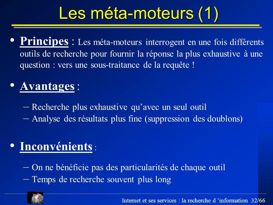 Les méta-moteurs (1)