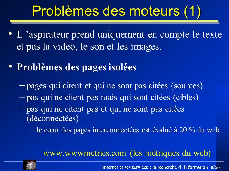 Problèmes des moteurs (1)