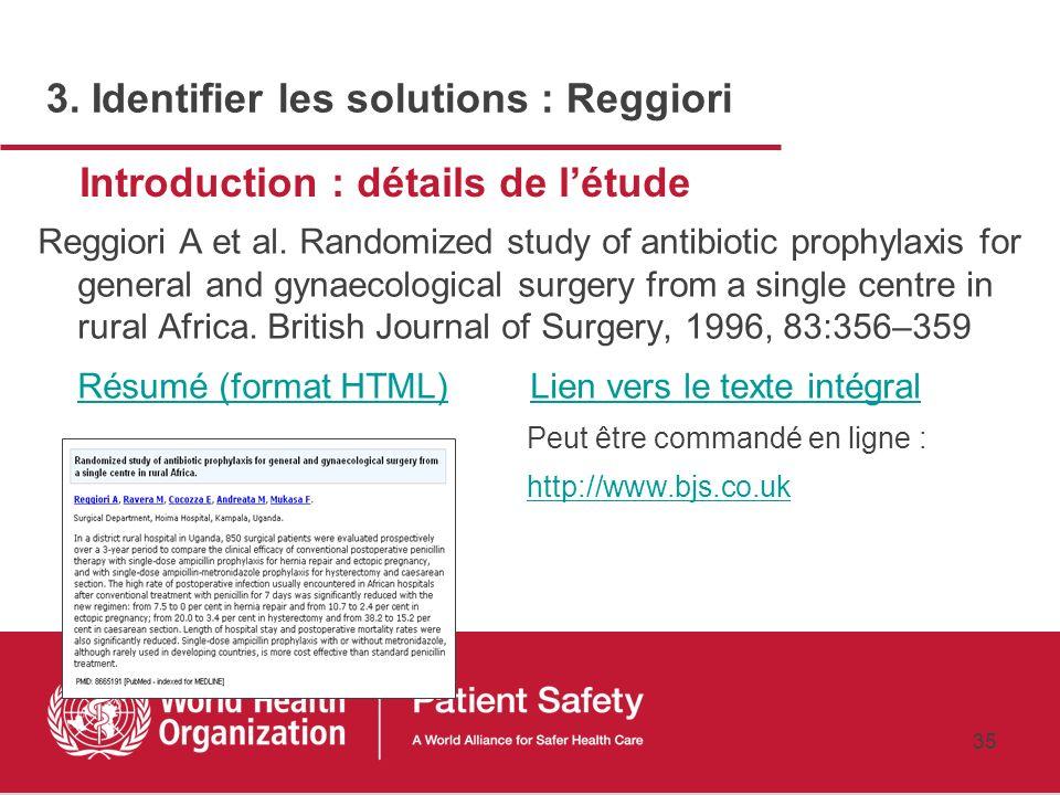 Introduction : détails de l'étude