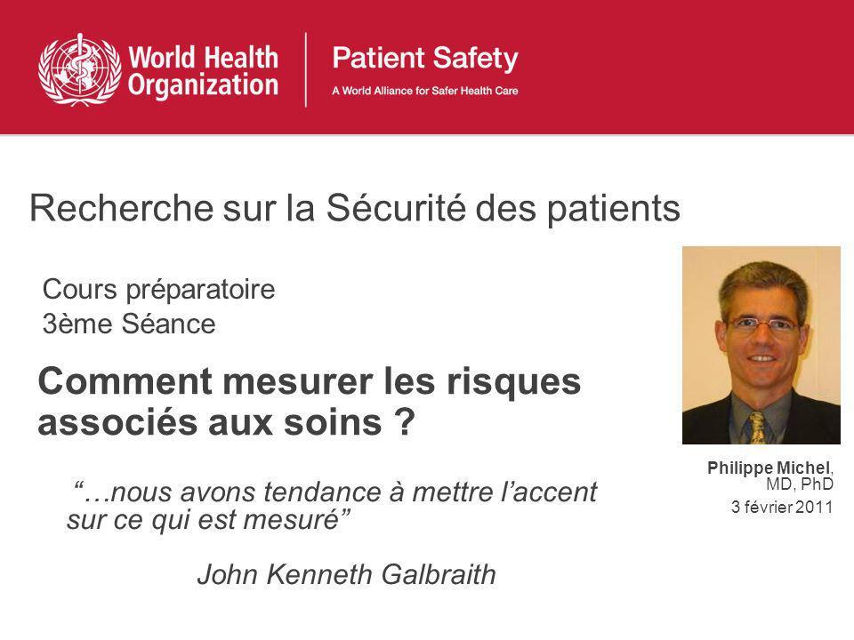Comment mesurer les risques associés aux soins