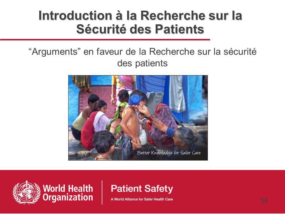 Introduction à la Recherche sur la Sécurité des Patients