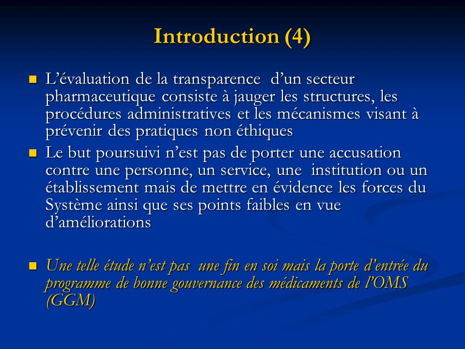 Introduction (4)
