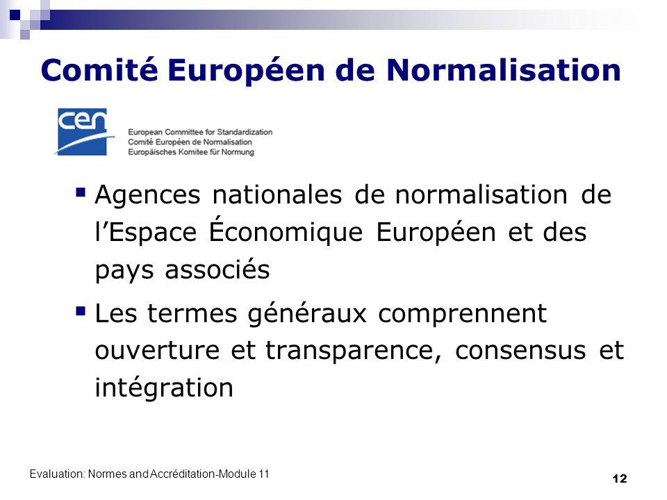 Comité Européen de Normalisation