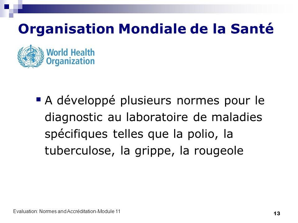 Organisation Mondiale de la Santé