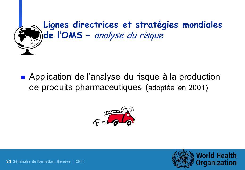 Lignes directrices et stratégies mondiales