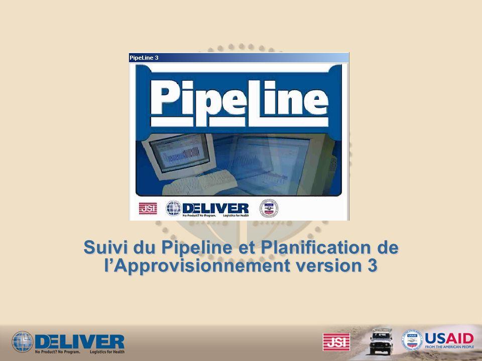 Suivi du Pipeline et Planification de l'Approvisionnement version 3