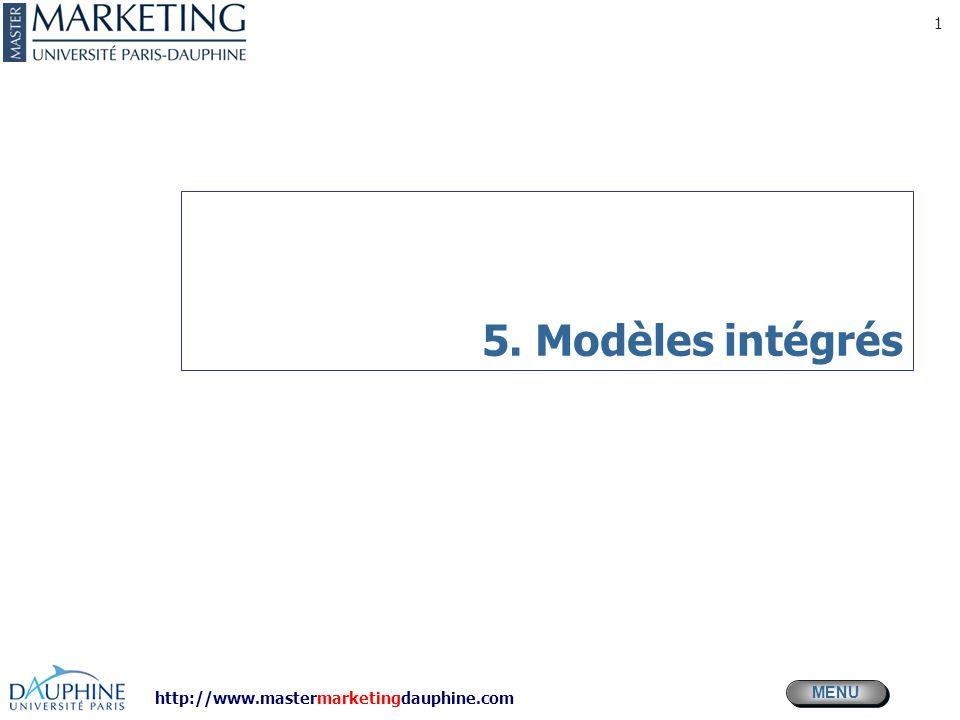 5. Modèles intégrés