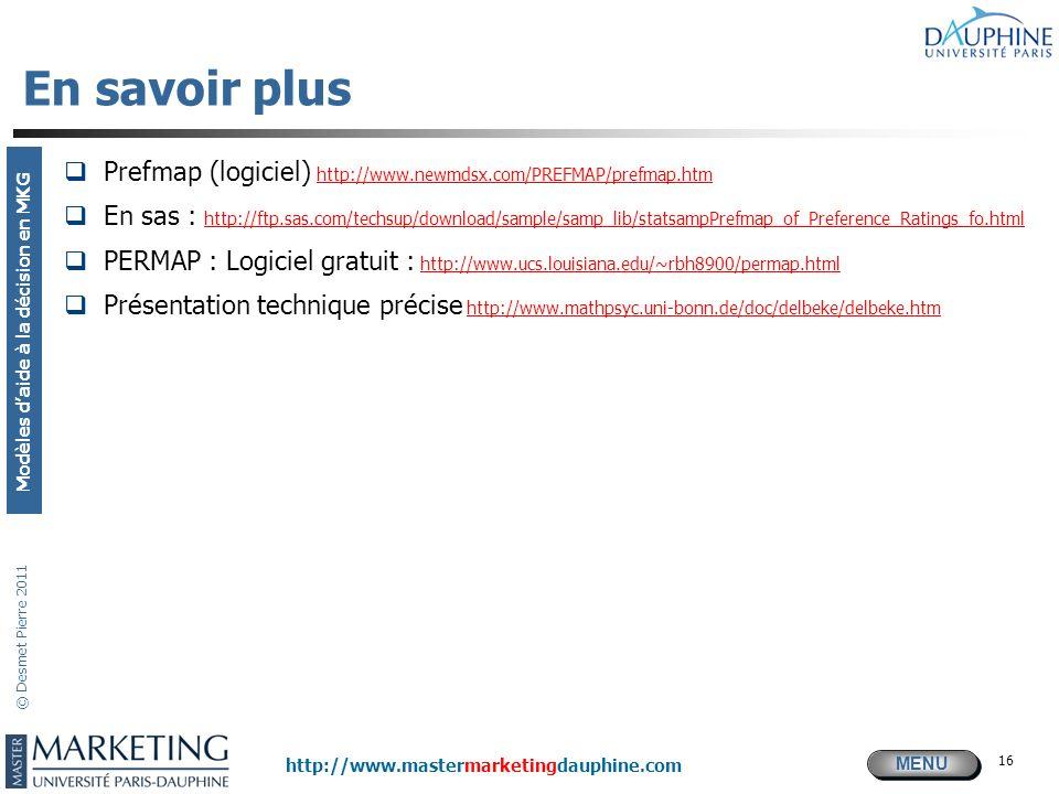 En savoir plus Prefmap (logiciel) http://www.newmdsx.com/PREFMAP/prefmap.htm.