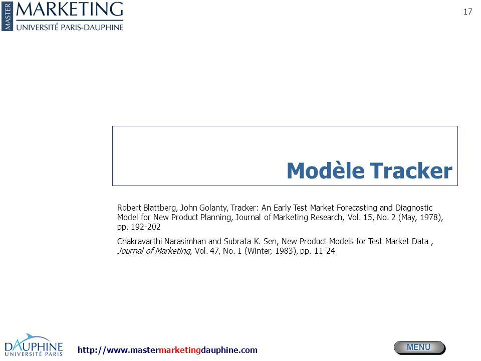 Modèle Tracker