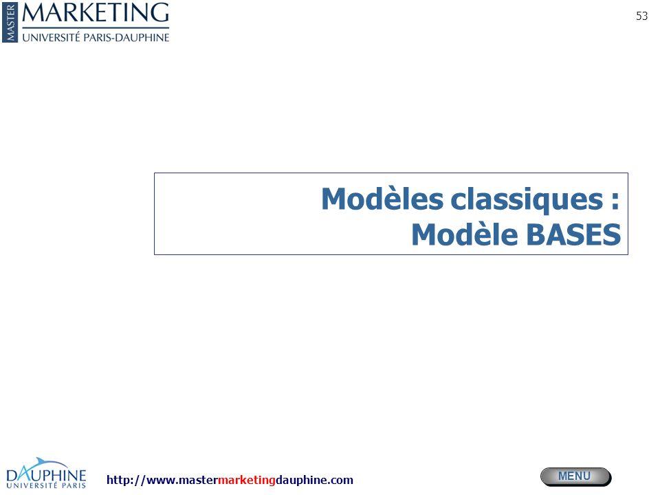 Modèles classiques : Modèle BASES