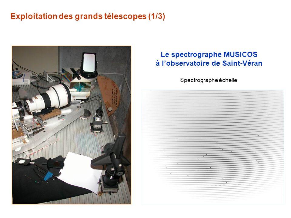Le spectrographe MUSICOS à l'observatoire de Saint-Véran