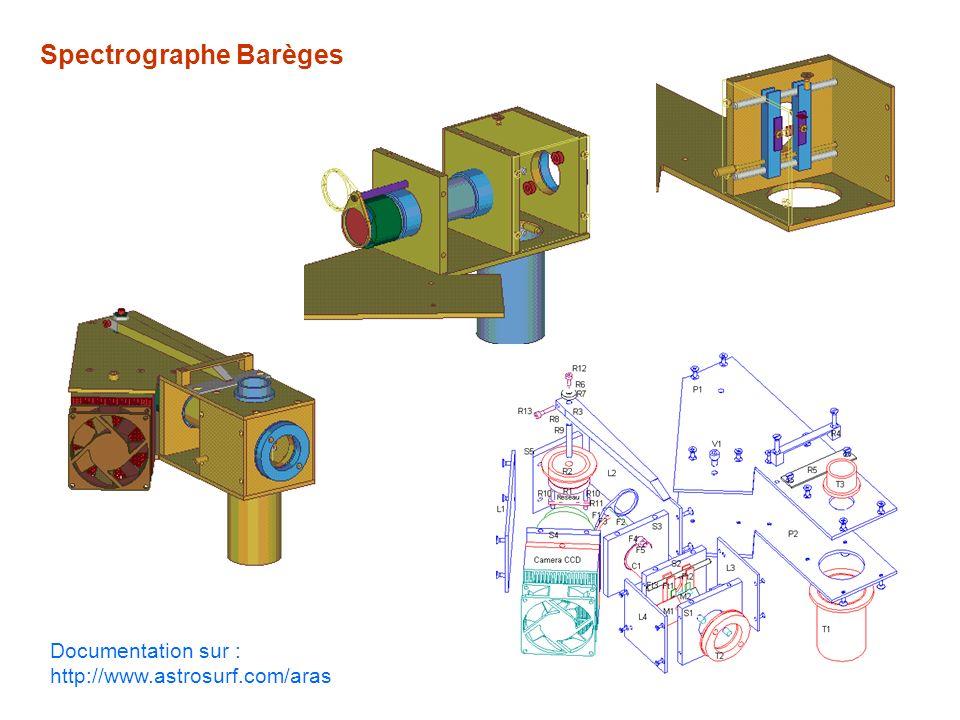 Spectrographe Barèges