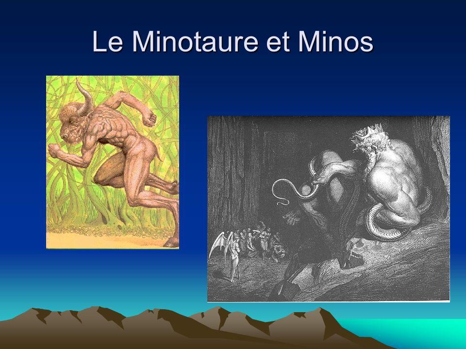 Le Minotaure et Minos