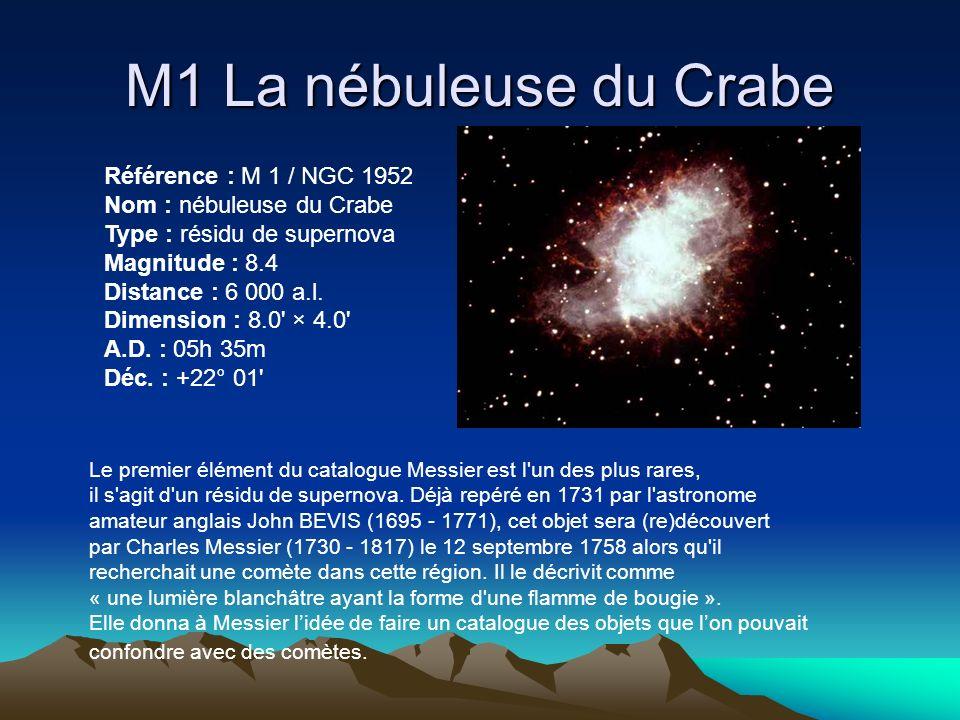 M1 La nébuleuse du Crabe