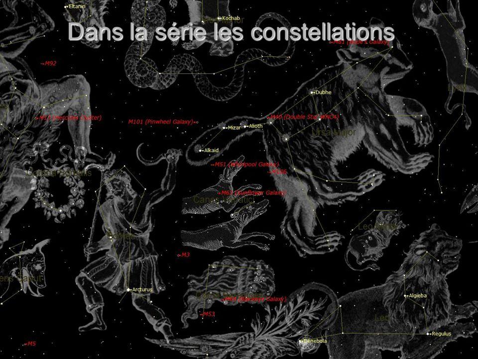 Dans la série les constellations