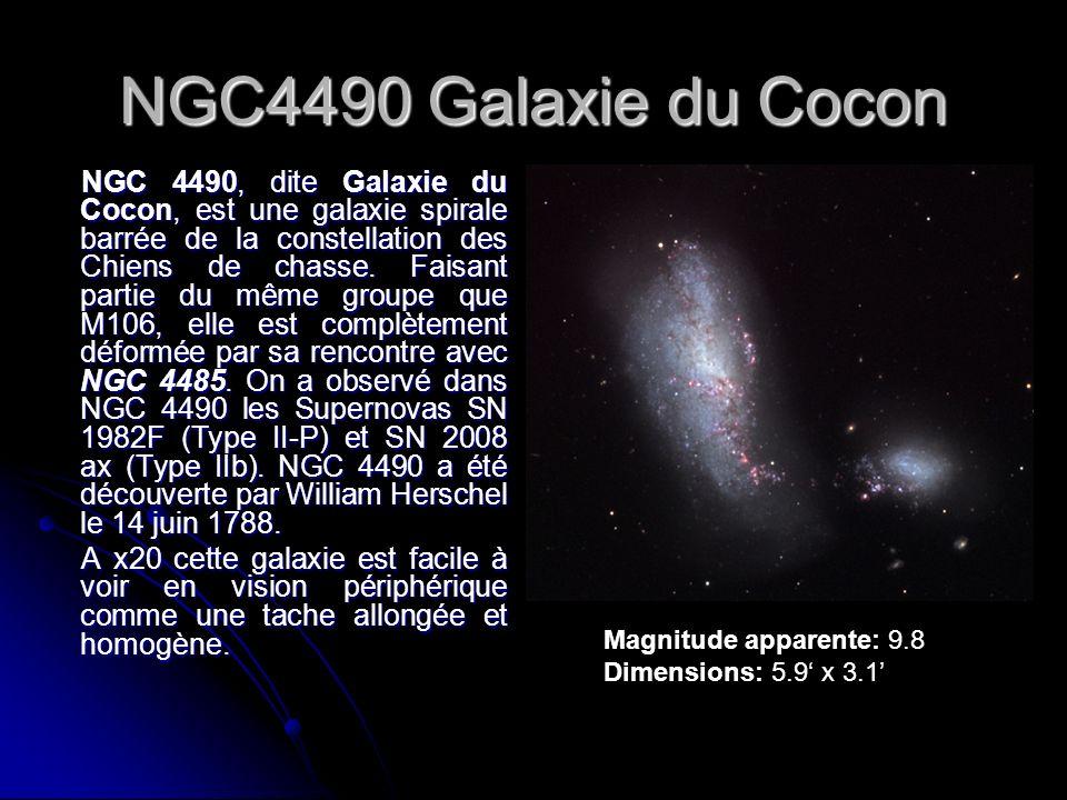 NGC4490 Galaxie du Cocon