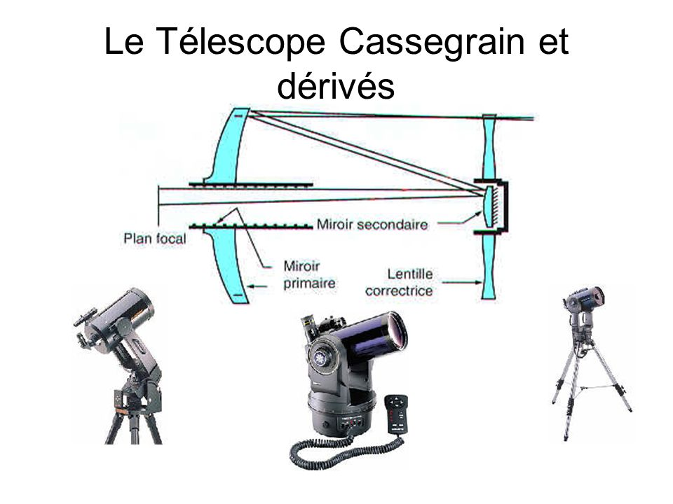 Le Télescope Cassegrain et dérivés