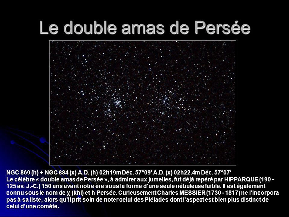 Le double amas de Persée