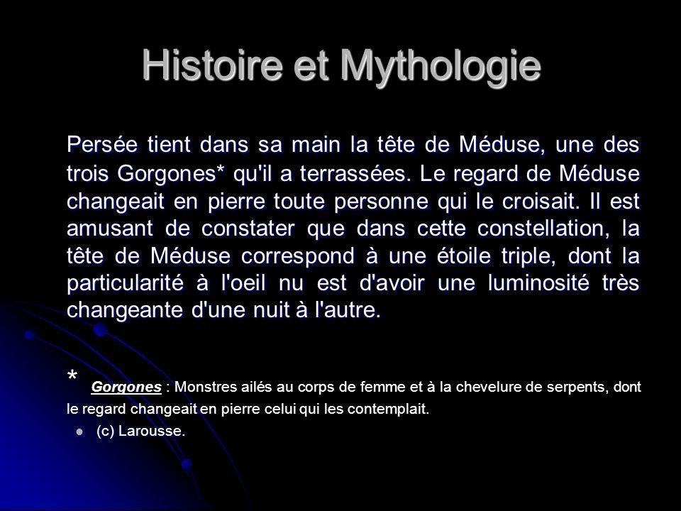 Histoire et Mythologie